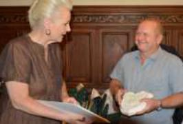 Verleihung Fassadenpreis 2013 durch OB Gaby Bauer