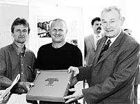 Ausgezeichnet mit einer Anerkennung beim Bayerischen Wohnungsbaupreis 2001