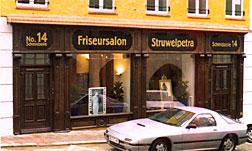 Rekonstruierte historische Ladenfassade Schmidzeile 14, Wasserburg am Inn