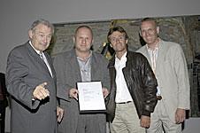 Urkundenverleihung, Bayerischer Bauherrenpreis