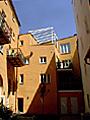 Historisches Speichergebäude nach Modernisierung